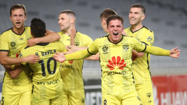 Flying high: Wellington Phoenix are set to stay in the A-League.