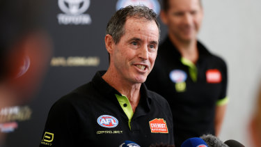 AFL umpires coach Hayden Kennedy will soon step down from the role, leaving a lasting legacy in one of the toughest jobs in footy.