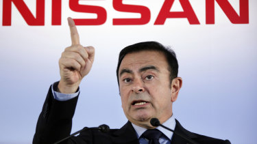 Former Nissan chief Carlos Ghosn.