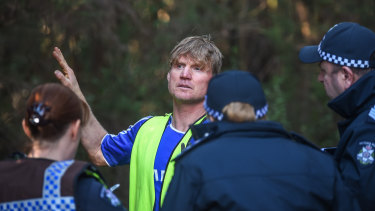 William's rescuer: Ben Gibbs.
