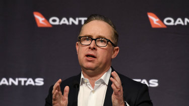 """We have to position ourselves for several years where revenue will be much lower,"" Qantas CEO Alan Joyce said."