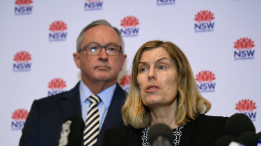Health Minister Brad Hazzard and Chief Health Officer Dr Kerry Chant have warned the virus cannot be contained.