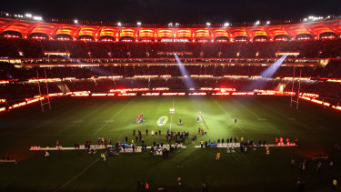 Perth's Optus Stadium won't be hosting a Western Australian NRL team any time soon.