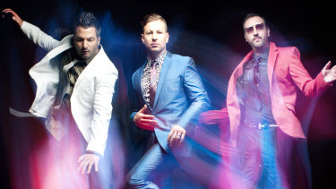 The Sydney dance trio have cancelled a planned headline gig at a greyhound race.