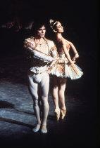Rudolf Nureyev and Lucette Aldous in Don Quixote, 1972.