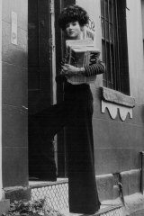 Juanita Nielsen pictured at her office in Potts Point in 1974.