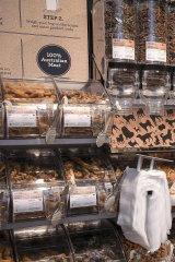 The store includes a dog treat pick n mix.