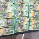 Around $400,000 in cash was seized during  police search warrants executed on Thursday.