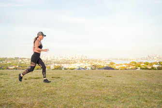 Rachel Stanley recommends considering your cadence when running.