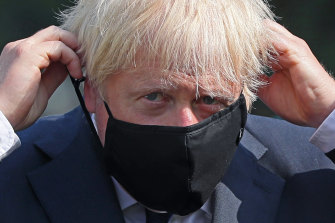 British Prime Minister Boris Johnson said experts would examine the latest coronavirus data from France.