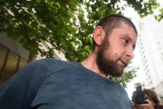 Ertunc Eriklioglu after his arrest on November 20, 2018.