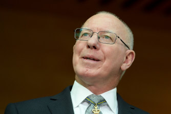 """Governor-General David Hurley says the awards selection process is """"not good enough"""""""