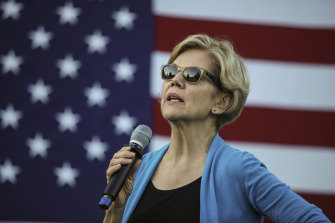 The outlook is sunny for Senator Elizabeth Warren. A respected Quinnipiac University poll has put her ahead of Joe Biden for the first time in the race to become the Democratic candidate for the 2020 US presidential election.