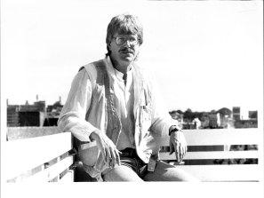 David Holman pictured at Potts Point, 1984.