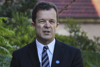 NSW Attorney-General Mark Speakman says testifying in criminal proceedings can be overwhelming for victims.