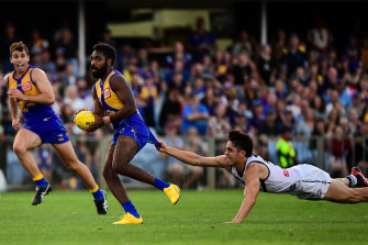 The Dockers and Eagles are moving to Queensland for the first four rounds of the restarted season.