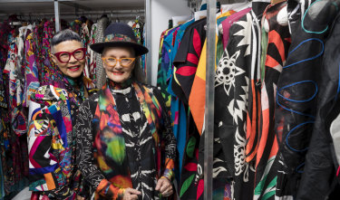 Fashion designers Jenny Kee and Linda Jackson will be honoured with a retrospective exhibition at the Powerhouse Museum in Sydney.