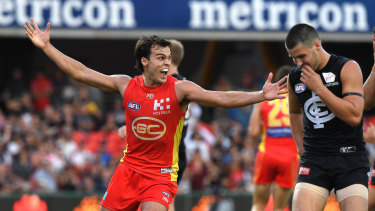 Jack Bowes was the hero against Carlton.