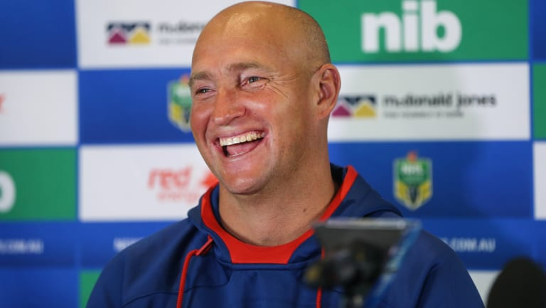 Year-by-year deal: The time for excuses is over for Knights coach Nathan Brown.