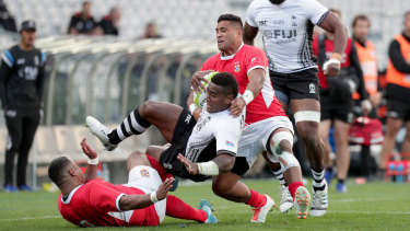The Fiji-Tonga Test featured an outstanding piece of refereeing,