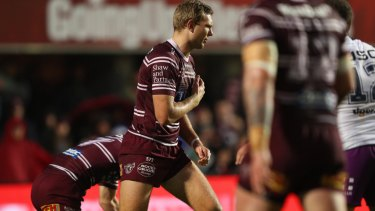 The sight of Tom Trbojevic injured right before the finals is as traumatic as it gets for Manly fans.