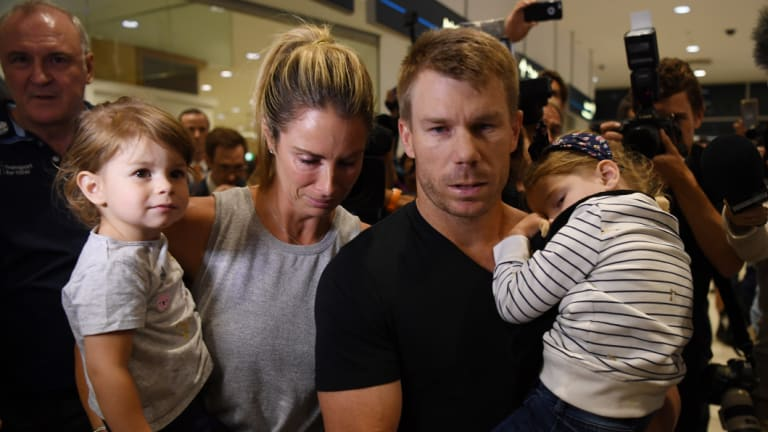 Candice Warner has spoken about suffering a miscarriage amid the ball-tampering scandal involving her cricketer husband, David Warner.