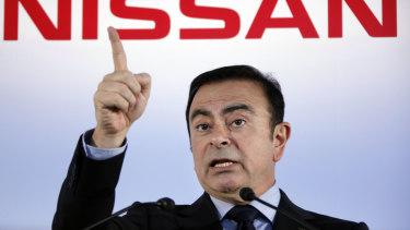 Former Nissan chief Carlos Ghosn.