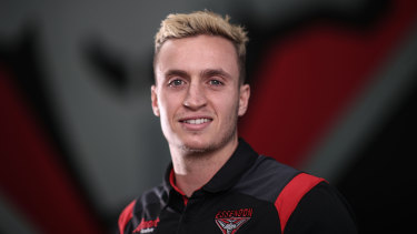 Orazio Fantasia has told Essendon he is staying put.