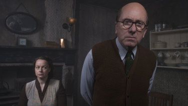 Tim Roth and Samantha Morton star in Rillington Place.
