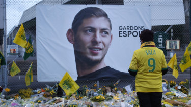 A body has been spotted in the underground wreckage of the plane carrying Emiliano Sala.