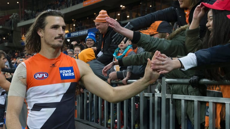 Big things ahead: Former Crow Phil Davis has extended his contract with the Giants by three years.