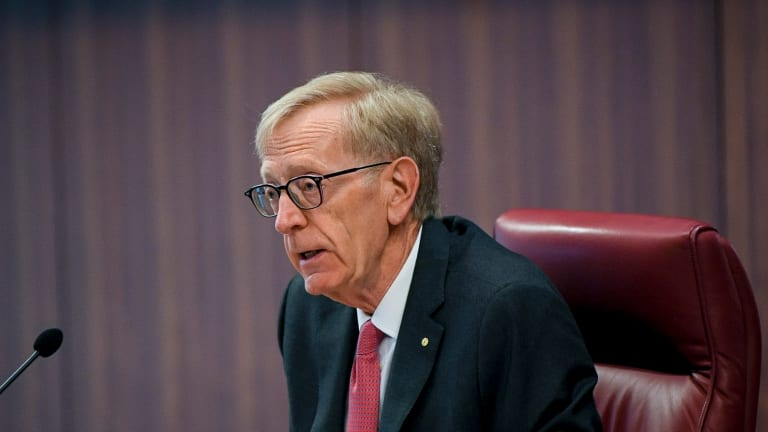 Commissioner Kenneth Hayne lashed some of the big banks on Monday for being tardy in their responses to his request for submissions.