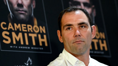 Smith launches book but says final chapter of career yet to be written