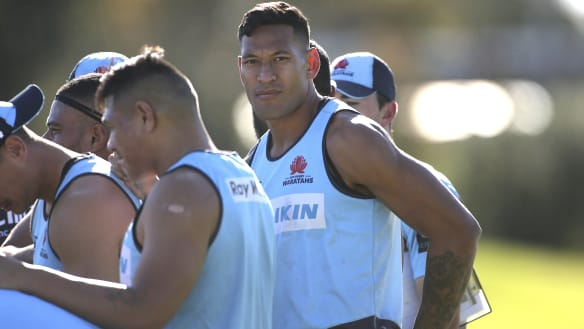 Aerial battle faces Wallabies with Sexton and Folau set to face off