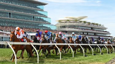 Backing the wrong nag at the Nag's Head Hotel ... Craig Williams rides Vow And Declare to victory in the Melbourne Cup while the Reserve Bank board leaves interest rates on hold.