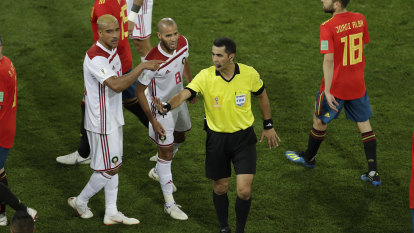 Morocco complain to FIFA over referee 'injustice'