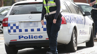 The 29-year-old man was arrested at his workplace just after 8.30am.