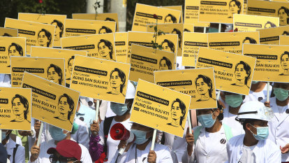 Myanmar police launch most extensive crackdown on protests