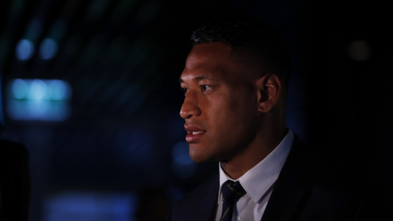 Hot property: it's a bit rich for Folau to be crying poor
