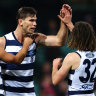 Comeback Cats blitz Lions on bruising night