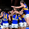 Eagles set for Thursday night final at Optus Stadium if they finish fifth or sixth