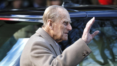 Prince Philip is back on the road following his accident.