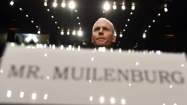 Boeing chief Dennis Muilenburg was peppered with questions by Congress.