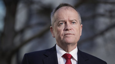 Former opposition leader Bill Shorten.