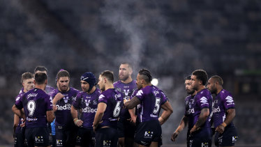 Running hot... the Melbourne Storm have beaten the Roosters and Raiders in consecutive weeks.
