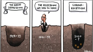 A short comparative history of recessions ...