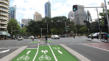 The proposed bike lanes will help fill in missing links in the cycle network.