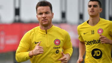 Axed: Alexander Baumjohann has been shown the door from the Wanderers.