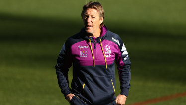 Craig Bellamy and the Storm have been forced to leave Melbourne.