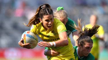 Charlotte Caslick will line up for Australia at the Tokyo Olympics.